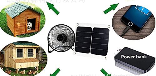 GOODSOZ 10W Solar Panel Fan