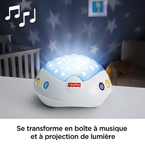 Fisher-Price Doux Rêves Papillon 3-en-1 Mobile Musical pour Lit Bébé Télécommandé, Projection...