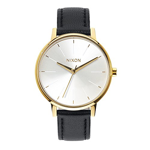 Nixon Nixon Herren Uhr Kensington Leather - Gold/White/Black