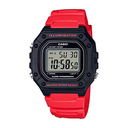 Relógio Digital Masculino Casio W-218H-4BVDF
