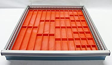 Schaller 49 Pc Red Plastic Box Assortment 1