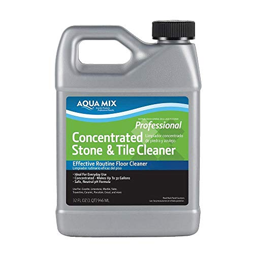 Aqua Mix Concentrated Stone and Tile Cleaner Effective Routine Floor Cleaner 32 oz