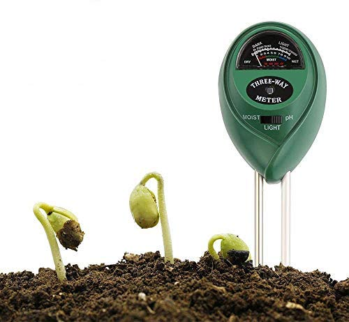 Fantastic Deal! Etmury Soil Tester, Plant Moisture Meter Soil pH Tester 3 in 1 Soil Tester for Plant...