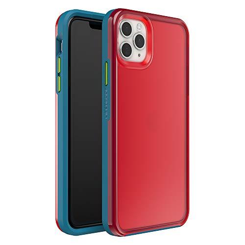 Lifeproof Slam Sport Custodia Antiribaltamento per iPhone 11 Pro Max, Contorno Blu, Retro Rosa
