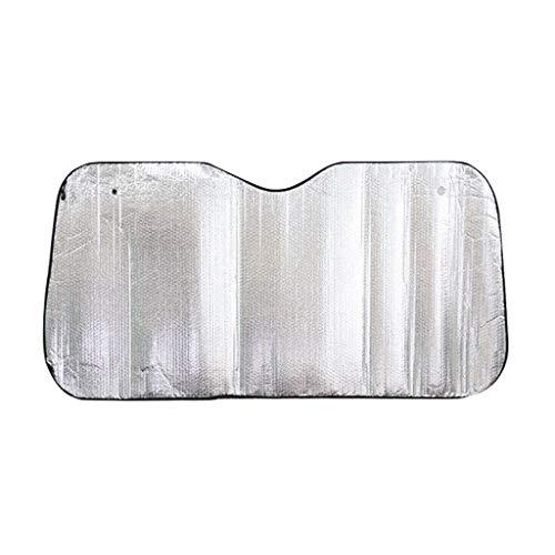 XUzg - Shade auto gebruiken zomer-verduisteringsgordijnen, auto-vrachtwagen-zonwering, aluminiumfolie, zilver-zonneklep, privacybescherming, eenvoudig aan te brengen, plafondlamp