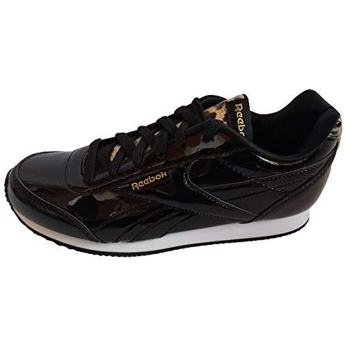 Reebok Scarpe da Donna Sneakers Royal Cljog in Pelle Nera DV9032