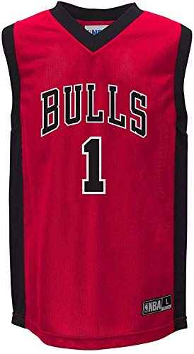 Derrick Rose Chicago Bulls NBA Replica Youth Red Jersey (Large)