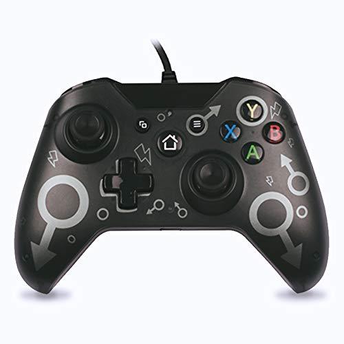 Manette Filaire Contrôleurs de Console de Jeucompatibles avec Xbox One, Xbox One S,Xbox Series X, Xbox One X, Windows PC