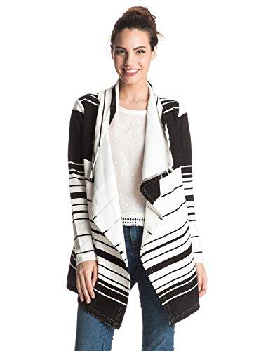 Roxy Damen Chill Break Poncho Fleece Top–Weiß, X-Large