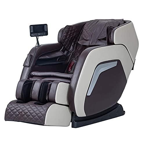 Sillón de Masaje eléctrico, sillón reclinable de Masaje Shiatsu de Cuerpo Completo...
