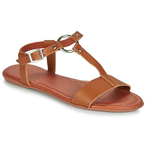 ESPRIT KONA T STRAP Sandalen/Open schoenen dames Cognac Sandalen/Open schoenen