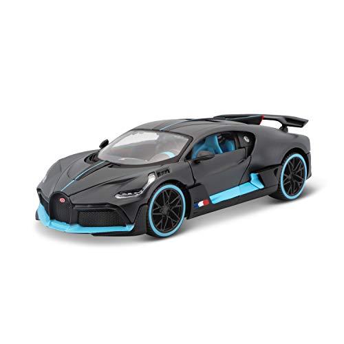Bugatti Divo en Color Gris Oscuro en Escala 1/24 (Maisto 31526BK), 31526-00000002