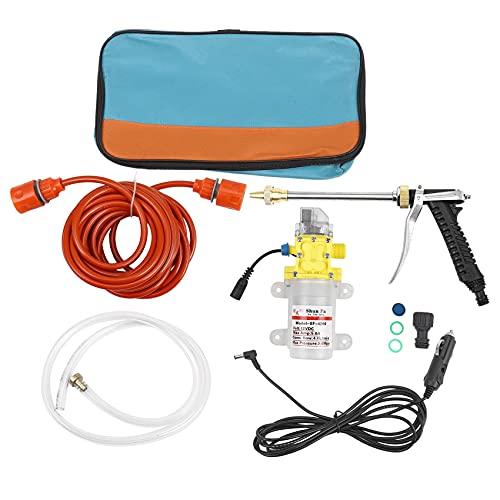 Coairrwy Bomba de Agua de Alta Presión Portátil de 12 Voltios, Dispositivo de Lavado de Autos Apto para Vehículos RV Marine,Duchas de Mascotas,Limpieza de Ventanas,Jardinería y Camping