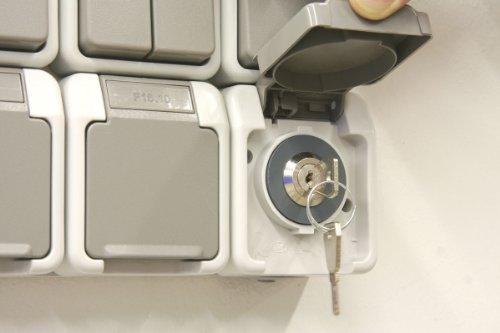 Sonstiges Steckdosenschloß mit 1 Schließung Steckdosensicherung abschließbar