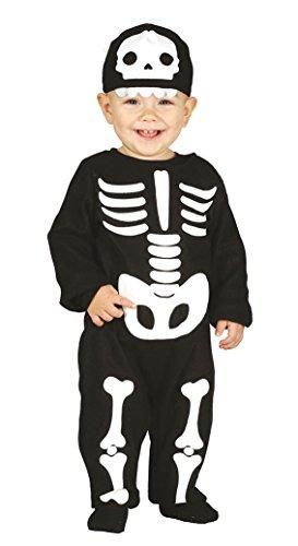 FIESTAS GUIRCA Disfraz de Terror Esqueleto niña de Vestuario
