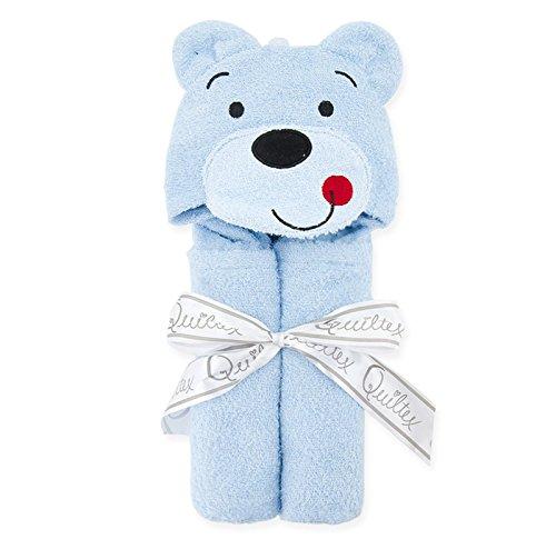 Búho Animal–Toalla para bebé con capucha, diseño de pato y oso–100% suave algodón oso