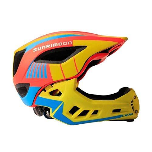 8bayfa veiligheidshelmen voor kinderen 5-8, fietshelm met LED-licht gespecialiseerde fiets helm met veiligheidslicht super licht integraal fiets helm kinderen fiets kind verjaardag cadeau Unisex