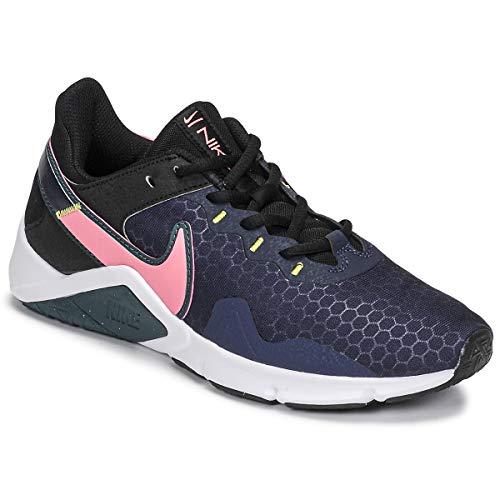 Nike Legend Essential 2 Deportivas Mujeres Negro/Rosa/Azul - 41 - Multideporte Shoes