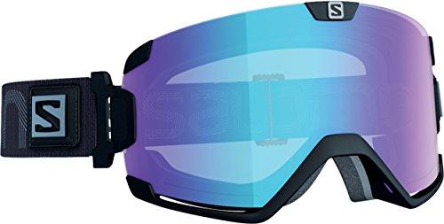 Salomon, Cosmic Photo, Máscara de esquí unisex, Negro/Azul AW, L40842700