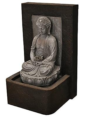 Gardman Tranquil Buddha Water Feature by Gardman