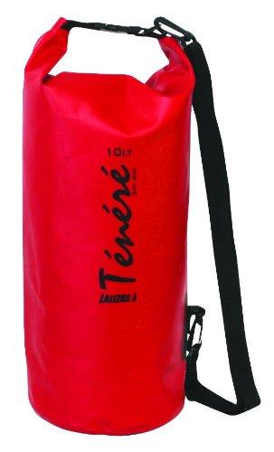 Sacco Mare impermeabile Dry Bag tenere 5litri di colore rosso