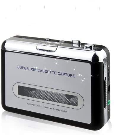 Redlution di Cassette in MP3 portatile con convertitore adattatore lettore Audio digitale via USB