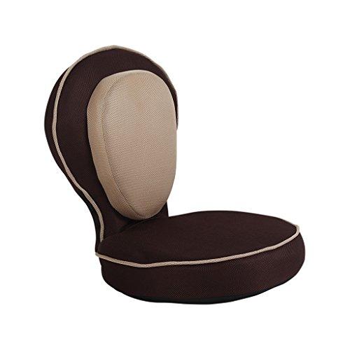 Fauteuils inclinables Fauteuils et Chaises Tatami Chaise paresseuse Yoga Fonction Chaise Lit Chaise Canapé Chambre Baie Fenêtre Tatami Canapé (Color : Brown)