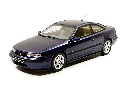 OTTO Mobile ot689Opel Calibra Turbo 4x 4–1996–Echelle 1/18, Blau Metall
