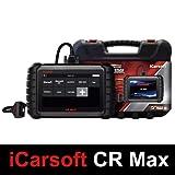 iCarsoft CR Max - Valise Diagnostic Auto Pro Multi-Marques - Modèle Authentique avec Garantie Europe - Lecture/Effacements défauts - Reset Entretiens - Codage Injecteurs - Régénération FAP