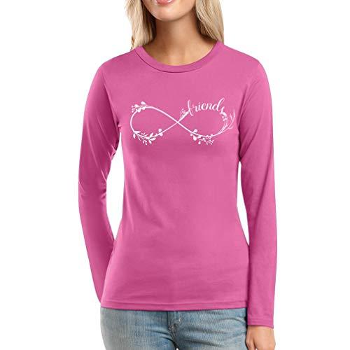 Best Friends 2 BFF Sister zomertop geschenk vrouwen lange mouwen T-shirt