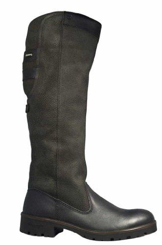 Dubarry, 3922-01, Clare Country Stiefel Damen, Größe 42, Schwarz/Black