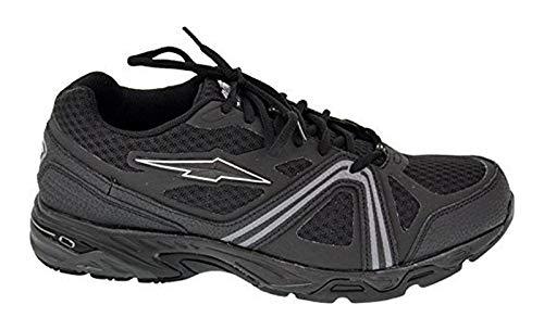 Avia - Zapatillas deportivas para hombre, ligeras, cómodas, ideales para correr en el gimnasio, color Negro, talla 9.5 UK