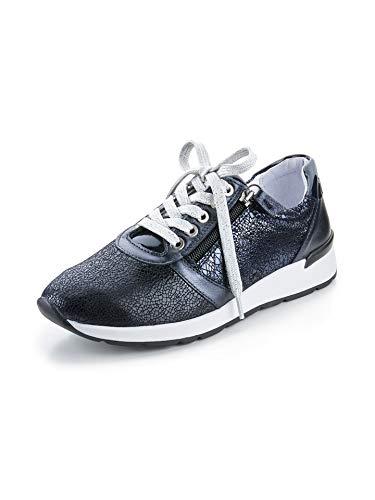 Avena Damen Hallux-Sneaker Polstertraum Blau Gr. 42