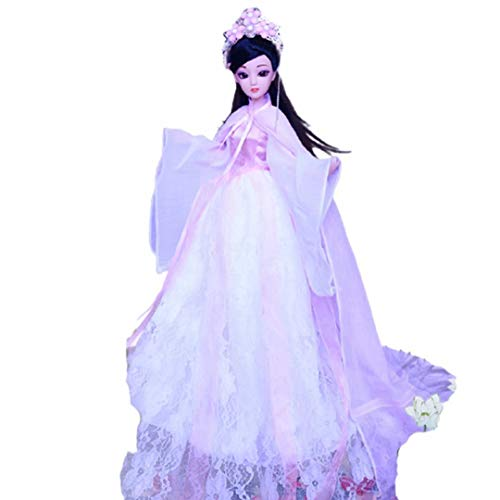 Chinese Ancient Myths Legends Doll, Handmade Oriental Mythology Tale Doll with Beautiful Palace Dress and Unique Hairstyle, Best Gift for Chinese TV Series Fans and Chinese Traditional Costume Lovers