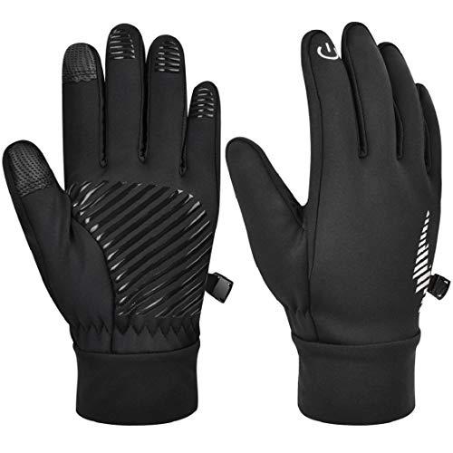 UMIPUBO Herren Damen Handschuhe Touchscreen Sporthandschuhe Winter Warme Vollfinge Handschuhe Radsporthandschuhe Outdoor zum Laufen Wandern Reiten Bergsteigen