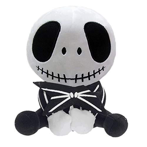 Jack Skellington Plush Doll Nightmare Before Christmas Pumpkin King Plush Stuffed Toy Baby Dolls - 8 Inches