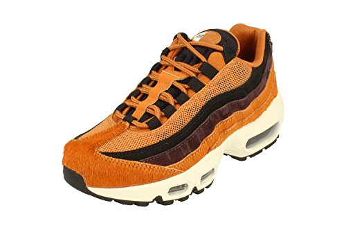 Nike Air Max 95 LX Womens Running Trainers AA1103 Sneakers Shoes (UK 4.5 US 7 EU 38, Cider Black sail 200)