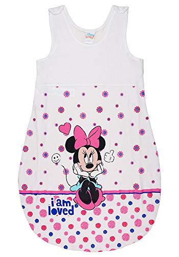 Baby Mädchen ärmelloser Sommer-Schlafsack mit Minnie Mouse Motiv von Disney Baby (Modell 2, 56_62)
