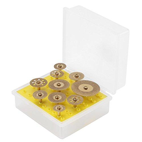 10 piezas de discos de corte de diamante, diy, joyería, cri