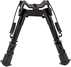 Caldwell M-Lok KeyMod 9-13 Inch Bipod with Low Profile and Twist Lock for Polymer Handguards on Long Gun Rifle for Tactical Shooting Range and Sport