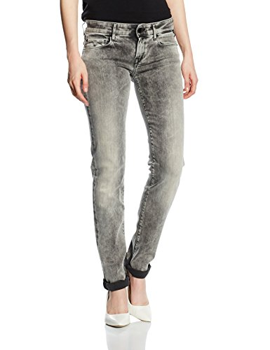 Replay Damen Rose Jeanshose, Grau (Grey Denim 10), W25/ L32 (Herstellergröße: 25)