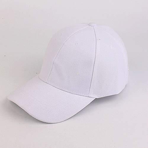 WAZHX Hombres Y Mujeres Coreanos Parejas Tablero Ligero Gorra De Béisbol De Color Sólido Sombrero Colectivo Deportivo Gorra Bordada Personalizada Sombreros De Viaje