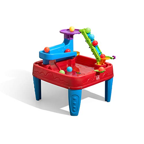 Step2 STEM Discovery Ball Table | Wet or Dry Water Table & Activity Table | Toddler Ball Play Table with Play Balls Included