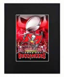 Tampa Bay Buccaneers super bowl champions Football NFL Helmet Logo Art Print Picture Photograph Mini Poster Gift Wall Decor Display Matted Included