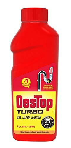 Destop Gel débouche et désinfecte - Le flacon de 500ml