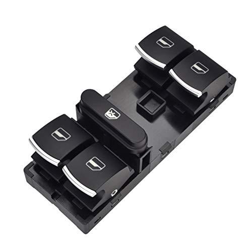 XINLIN Ruderude Botón del Interruptor de la Ventana del Maestro de energía eléctrica Ajuste para VW MAGOTAN SAGITAR Golf MK5 MK6 GTI COBBIT Passat B6 CC 5ND 959 857