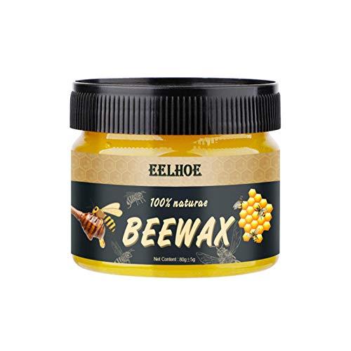 B/A Holzgewürz Beewax Natural Beewax Traditionelles Holzwachs Mehrzweck-Bienenwachs Möbelpolitur für Holzreiniger und polnische Möbelpflege