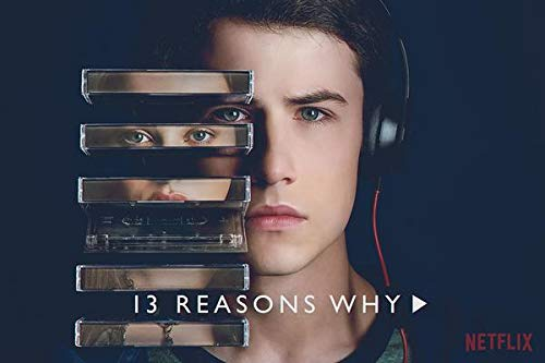 WOAIC 13 Reasons Why Poster Pósteres For Bar Cafe Home Decor Painting Wall Sticker Frameless 24X36 Inch(60X90CM)