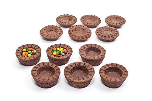 Mrs. Fields Bakeware Bake N Stuff Cupcake Pan Makes 6 Candy Filled Cupcakes, Black