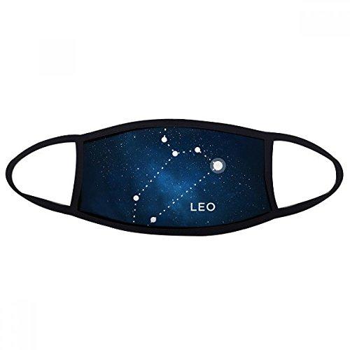 DIYthinker Leo sterrenbeeld sterrenbeeld sterrenbeeld Gezicht Anti-stof Masker Anti Koud Maske Gift